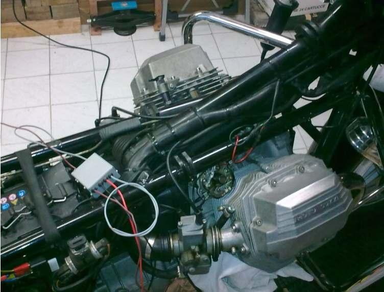 Schema Elettrico Per Accensione Elettronica Fiat 126 : Alcune realizzazioni di motoguzzisti e non